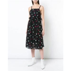 Rag & Bone Sonny Star Print Silk Dress